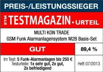 Multi Kon Trade M2B-T4-N Funkalarmanlage