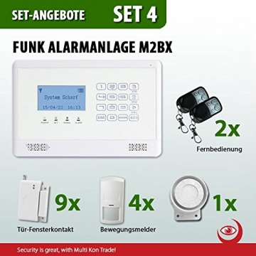 Multi Kon Trade M2BX Funkalarmanlage